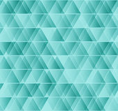 Vector geometric seamless triangle pattern. Stock Photography