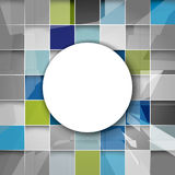Vector geometric shape futuristic background Stock Photos
