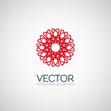 Vector geometric symbol Royalty Free Stock Images