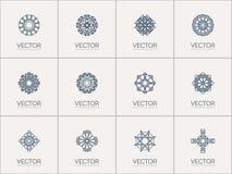 Vector geometric symbols Royalty Free Stock Photography