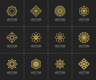 Vector geometric symbols Stock Photos