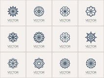 Vector geometric symbols Royalty Free Stock Images