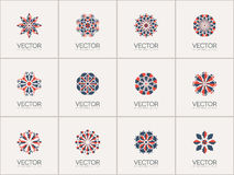 Vector geometric symbols Stock Photography