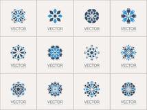 Vector geometric symbols Stock Images