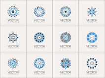 Vector geometric symbols Royalty Free Stock Image
