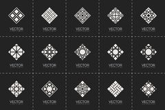 Vector geometric symbols Stock Photo
