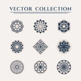 Vector geometric symbols Royalty Free Stock Photos
