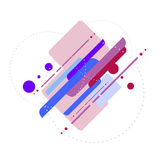 Vector geometric template abstract background Stock Photo