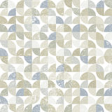 Vector geometric textile abstract seamless pattern Royalty Free Stock Images