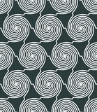 Vector geometric textile abstract seamless pattern, spotted fray. Ed mosaic canvas Stock Photo