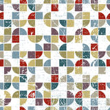 Vector geometric textile abstract seamless pattern Stock Photo