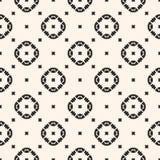 Vector geometric texture. Ornamental seamless pattern, mosaic elements. Royalty Free Stock Image