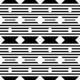 Vector seamless geometric pattern with small polka,diamond and stripes, lines shapes, tiny rhombuses, squares. vector illustration