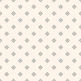 Vector seamless pattern with small diamond shapes, tiny rhombuse. Vector geometric texture with small diamond shapes, tiny rhombuses, squares. Abstract modern Royalty Free Stock Photo