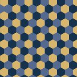 Vector geometrical background with hexagons. Abstract pattern with geometric shapes. Vector background for design Royalty Free Stock Photo