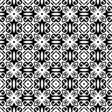 VECTOR GEOMETRICAL BLACK AND WHITE PATTERN DESIGN Stock Photo
