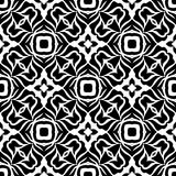 VECTOR GEOMETRICAL BLACK AND WHITE PATTERN DESIGN Royalty Free Stock Photography