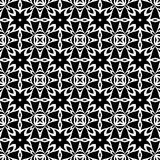 VECTOR GEOMETRICAL BLACK AND WHITE PATTERN DESIGN Stock Image