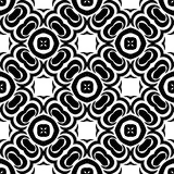 VECTOR GEOMETRICAL BLACK AND WHITE PATTERN DESIGN Stock Photography