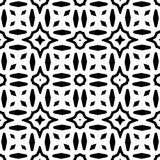 VECTOR GEOMETRICAL BLACK AND WHITE PATTERN DESIGN. REPEATABLE ABSTRACT Stock Images