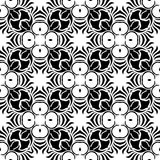 VECTOR GEOMETRICAL BLACK AND WHITE PATTERN DESIGN stock images