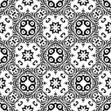 VECTOR GEOMETRICAL BLACK WHITE PATTERN DESIGN stock photography