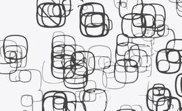 Vector Geometrical Concept Desig Cube square. Grades of gray stock illustration