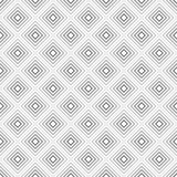 Vector geometrical seamless pattern. In black and white Royalty Free Stock Photography