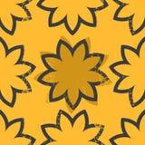 Vector geometrical seamless pattern Stock Photo