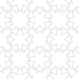 Vector geometrical seamless pattern Royalty Free Stock Image