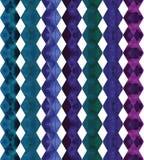 Vector geometrisch abstract waterverfpatroon met Royalty-vrije Stock Afbeeldingen