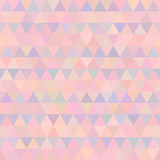 Vector geometrisch driehoeks naadloos patroon Royalty-vrije Stock Fotografie