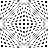 Vector geometrisch geruit 3d naadloos patroon met kubieke vormen Royalty-vrije Stock Afbeeldingen