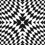 Vector geometrisch geruit patroon Pop-artornament royalty-vrije illustratie