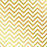 Vector geometrisch gouden schitterend naadloos patroon op witte achtergrond vector illustratie