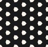 Vector geometrisch naadloos patroon met diamantvormen, zeshoeken Royalty-vrije Stock Foto