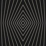 Vector geometrisch naadloos patroon met dunne gebreken lijnen Royalty-vrije Stock Afbeeldingen