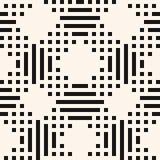 Vector geometrisch naadloos patroon met lineair net, rooster, plaid, geruit Schots wollen stof vector illustratie