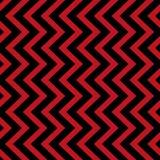 Vector geometrisch naadloos patroon Rode en zwarte driehoekstextuur Stock Afbeeldingen
