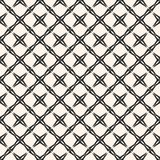 Vector geometrisch net naadloos patroon Abstracte diagonale vierkanten Stock Fotografie