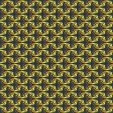 Vector Geometrisch Ornament Naadloos patroon voor achtergrond, behang, textieldruk, het verpakken, enz. stock illustratie