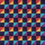 Vector geometrisch patroon Stock Foto's
