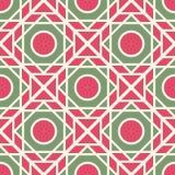 Vector geometrisch patroon Royalty-vrije Stock Afbeeldingen
