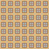 Vector geometrisch patroon Stock Fotografie