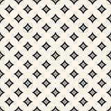 Vector geometrisch patroon met kleine diamantvormen Meetkundeontwerp voor decor, textiel Stock Foto