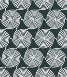 Vector geometrisch textiel abstract naadloos patroon, bevlekte strijd royalty-vrije illustratie