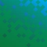 Vector geometrische abstracte achtergrond met vierkanten en lijnen Royalty-vrije Stock Afbeeldingen