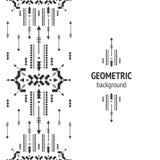 Vector geometrische achtergrond Stock Foto
