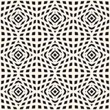 Vector geometrische geruite textuur Naadloos patroon, kubieke vormen Stock Fotografie