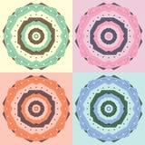 Vector geometrische kleurensamenvatting Stock Fotografie